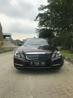 Mercedes Benz E300 AVG 2012 Hitam Panoramic