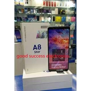 Samsung Galaxy A8 Star (4GB RAM + 64GB ROM) SM-G8850 香港行貨 原廠一年保養