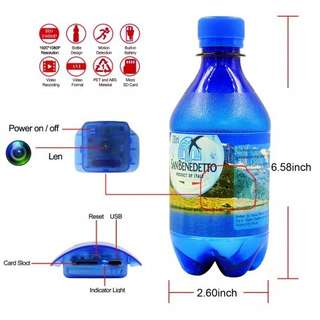 Spy Camera Water Bottle Hidden Camera HD 1080P
