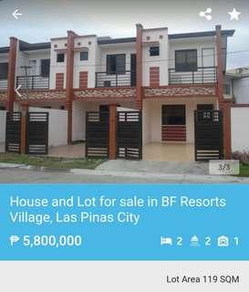 House & Lot For SALE at BFRV Vista grande Las pinas