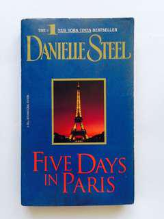 Five days in paris danielle steel