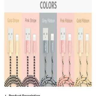 💋Authentic💋Yoobao Lightning Cable
