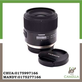 USED TAMRON LENS SP 85mm F1.8 DI VC USD FOR CANON