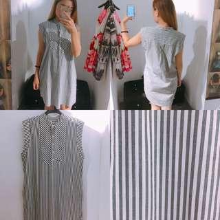 🚚 A&F女生 春夏新款直身短洋裝
