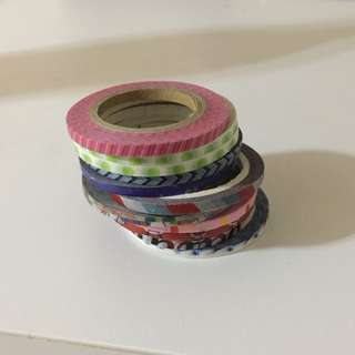 12 Washi Tapes