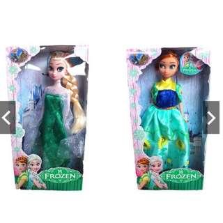 Kids Children Frozen Elsa Anna Play Display Collection Doll (28cm)