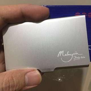 Malaysia, Truly Asia - Aluminium Name Card Holder