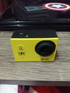 Action Camera GOQ 4K Yellow