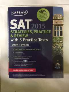 Kaplan SAT Strategies, Practice and Review
