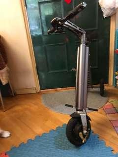 可摺式電動單車