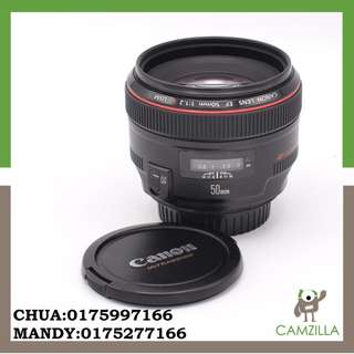 USED CANON LENS FE 50 mm 1:1.2 L USM
