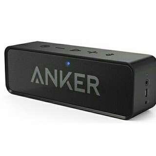 🚚 現貨:ANKER SoundCore 環迴立體聲 24小時播放 4.0藍牙音箱