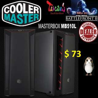 CoolerMaster MB510L ATX MASTERBOX CASE WINDOW.