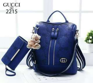 GUCCI Convertible Backpack Bags 2215