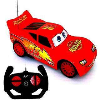 RC Car Remote Control Car RC Cartoon Cars Children Kids Toy Mc Queen