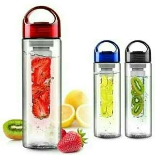 Botol minum transparan