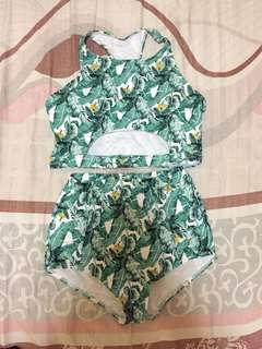 Two piece highwaist swimsuit