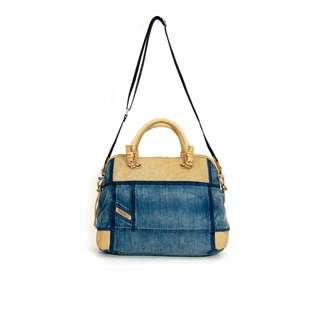 Diesel Women Bags Wallet(100% Original / REAL) goods in stock  X01561-P0003-H3306 Denim