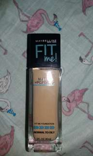 MAYBELLINE Fit Me foundation🌌 125 NUDE BEIGE