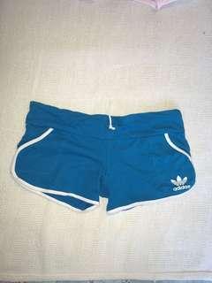 Adidas Replica Blue Short Booty Shorts