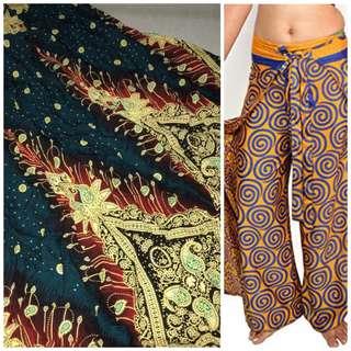 Thailand wrap boho pants