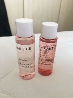 🚚 Laneige Make up remover & cleansing water