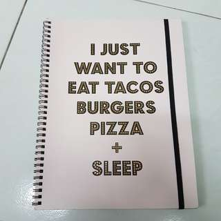 (BN) Typo A4 Notebook