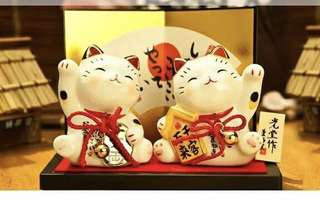 Fortune cat 药师窑 2 pcs  YSY7230-7231