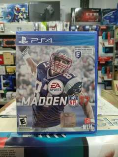 🆕 PS4 Madden NFL 17