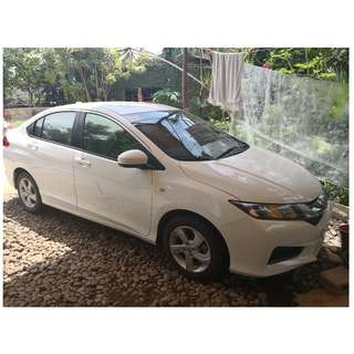 Honda City 2016 AT (Tafetta White)