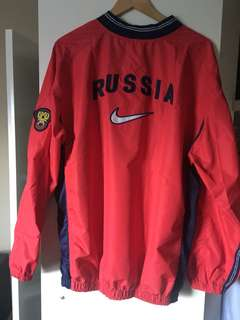 Authentic Nike Russian National Team Spray Jacket