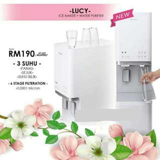Penapis Air Coway ice maker LUCY
