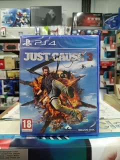 🆕 PS4 Just Cause 3