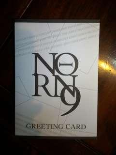 🚚 動漫周邊-NORN9 Greeting Card Collection-不知火七海款