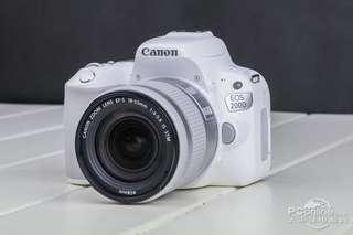 Camera Canon Dslr 200D Bisa di cicil Free1x angsuran (sony,lumix,)