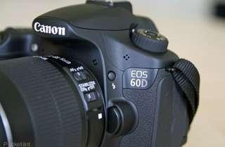 Camera Canon Dslr 60D bisa di cicil tanpa kartu credit (nikon,sony)