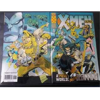 X-Men: Alpha (1st app: X-Man, Blink, Dark Beast & Holocaust I)