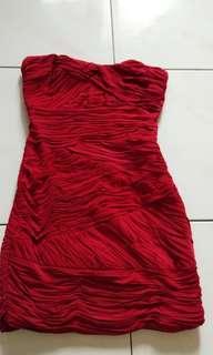 Preloved Kemben Dress BCBG MAXAZRIA