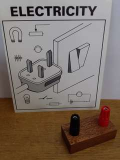🚚 Science electrical circuit component holder