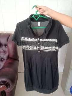 (NEGO) Dress wanita hitam
