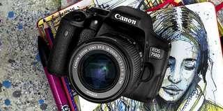 Camera Dslr Canon 750D Bisa di cicil 0% 3mnt cair (nikon,sony,lumix)