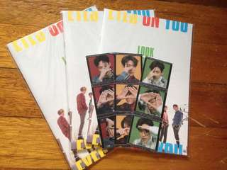 GOT7 EYES ON YOU LOOK BOOK