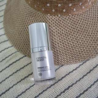 Crystal brightening eye concentrate