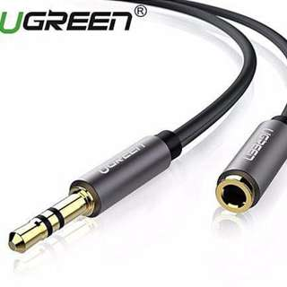 5m 3.5mm Stereo Jack Audio Extension Cable (Black)