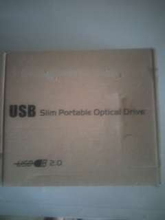 USB Slim Portable Optical Drive 2.0