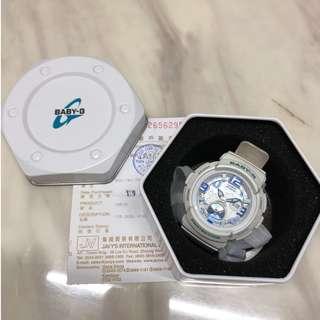 二手 Baby G 手錶 白藍2016買 85%新
