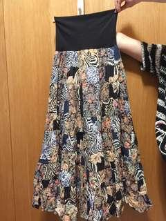 🚚 mana拼接長裙