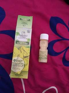 Sariayu acne care