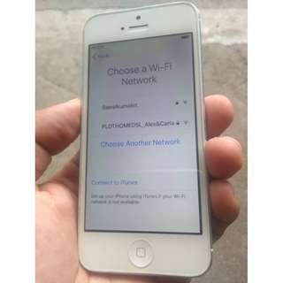 defective i phone 5 16gb FU icloud issue