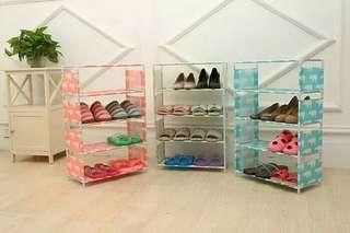 Rak Sepatu Motif 5 Susun